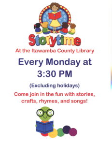 Storytime @ Itawamba County Library