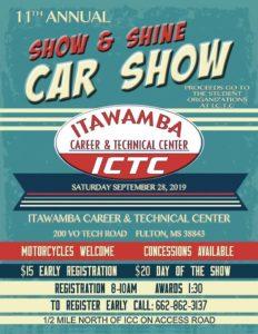 Show & Shine Car Show ICTC @ ICTC