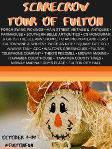 Scarecrow Tour of Fulton @ City of Fulon