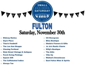 Fulton Small Business Event @ City of Fulton