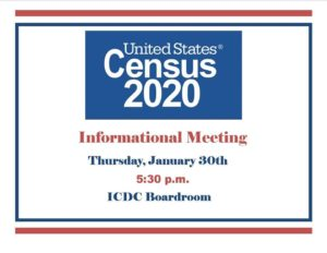 United States Census 2020 Informational Meeting @ ICDC