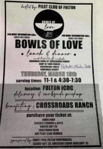 Bowls of Love @ Fulton ICDC