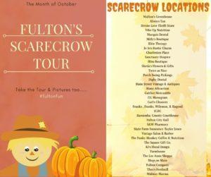 Fulton Scarecrow Tour @ 35 Fulton Locations