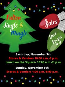 Fulton Jingle & Mingle @ City of Fulton